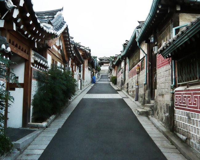 まだ大学生だったころ、同じ研究室の仲間4人でソウルと水原を観光しました。韓国からの留学生の帰国に合わせて、遊びに行き、その友人に現地を案内してもらっています。世界遺産や歴史的街並み、下町の路地、新市街地などちょっとディープな観光地にも行き、大衆食や郷土食も食べて、とても濃厚な日を過ごしました。