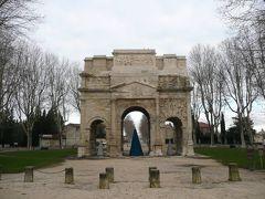 年末年始のフランス #16 - 南仏オランジュ、古代ローマの凱旋門