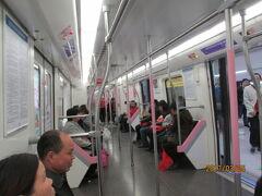 武漢の地下鉄が天河空港へ接続する