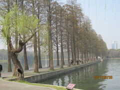 武漢の東湖生態観光風景区