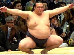 大相撲3月場所(大阪場所)に行ってきました。          2017年3月25日 14日目
