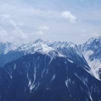 夜叉神・鳳凰山ピストン / 残雪モリモリ