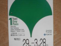 都営地下鉄一日乗車券の旅。大田区郷土資料館