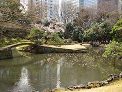 東京文京区小石川のさくら・・江戸の二大庭園で特別史跡及び特別名勝の、小石川後楽園をめぐります。