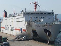 釜山まで19時間、船の旅。長い?短い?
