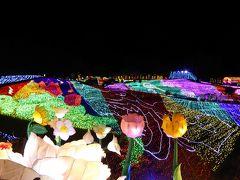 春の優雅な伊豆♪ Vol.18(第2日目) ☆伊豆高原:「グランイルミ」巨大な花畑ランタンはアリスの国♪
