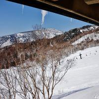 三世代で巡るスキー旅行下見 万座スキー場と万座温泉と万座プリンスホテル 老人夫婦と息子2人の4人旅