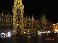 ミュンヘン駅前から観光地市中心部まで徒歩で30分かからず