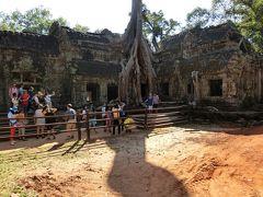 【現地駐在員の春節休み】中国を飛び出してカンボジア・シェムリアップへ(3日目)~タ・プローム、バイヨン、パブストリートほか~