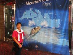 地中海クルーズ船 MSCスプレンディダ号
