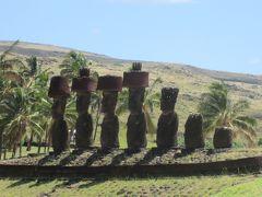 チリ 「行った所・見た所」 イースター島「アフアカハンガ」と「アナケナビーチ」を散策