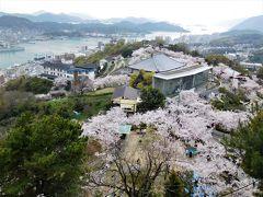 2017年湯めぐり・花めぐりツアー 4月その2 尾道千光寺公園で桜を満喫