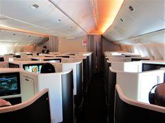 JAL 日本航空 ビジネスクラス スカイスイートⅢ [羽田→香港] 黄熱病予防接種を受け、いざ参らん!  南アフリカ・ザンビア・ジンバブエ 1