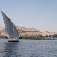 エジプト2017・・・(4)アスワン ナイル川をファルーカでのんびりと