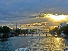 2011 バックパッカーアゲイン欧州 パリの空の下セーヌは流れる