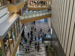 JRゲート・タワー 4月17日第3次(?)オープン。Takashimaya Mallが開店しました。