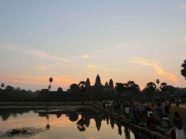 【現地駐在員の春節休み】中国を飛び出してカンボジア・シェムリアップへ(4日目)~アンコールワットの朝日、地雷博物館、バンテアイ・スレイ、トンレサップ湖ほか~
