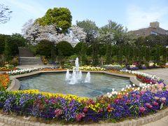 春爛漫の優雅な横浜♪ Vol16 ☆港の見える丘公園:立体感のある美しい庭園♪