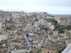 南イタリア7日間の旅(4) マテーラの洞窟住居