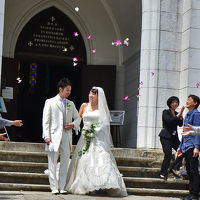 博物館 明治村 春の模擬結婚式(聖ザビエル天主堂)