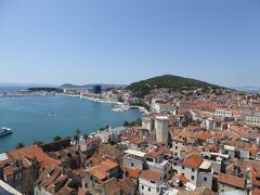 暑いけど旧市街をぶらぶら。市場や鐘楼を回りました~16年夏クロアチアなど4カ国周遊8月9日その2スプリット
