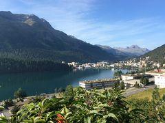 いつかある日ではおそい!スイスへGO! vol.23 爽やかな朝のサンモリッツ湖畔とドルフ地区を歩こう♪