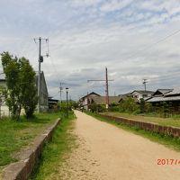 児島の下電跡をサイクリング