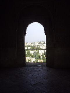 2016スペイン旅行 アルハンブラ宮殿を彷徨う グラナダ~バレンシア