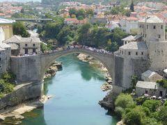 橋のアーチが美しいスタリ・モスト~16年夏ボスニア・ヘルツェゴビナなど4カ国周遊8月10日その2モスタル