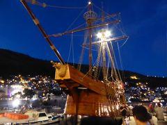 カラカ船で夕暮れクルーズへGO!~16年夏クロアチアなど4カ国周遊8月11日その4ドブロブニク