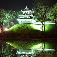 お花見二本立て・・・高田城址の夜桜 VS 臥竜公園の昼桜~☆