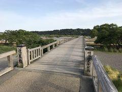 世界一の木造、ギネスに載ってる蓬莱橋