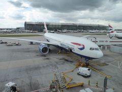 英国航空のPエコノミークラスで東京-ロンドン-ダブリン往復