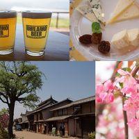 オラホビールレストランで飲み比べ 静かな海野宿さんぽ アトリエドフロマージュでチーズ食べ比べの旅