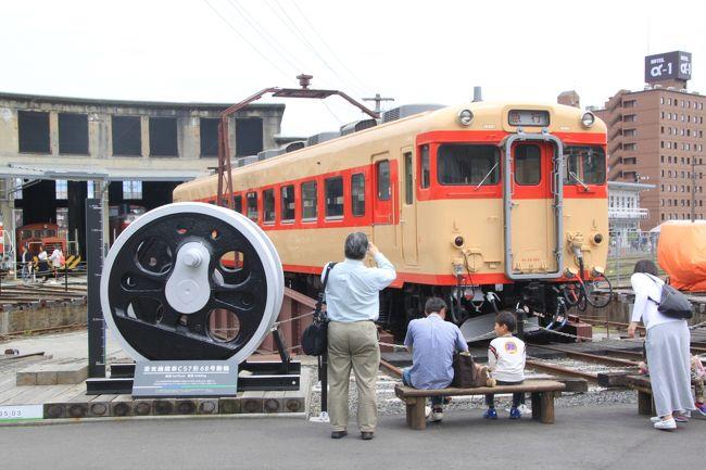 津山の城下町と懐かしの機関車を訪ねて(ついでにグルメも)