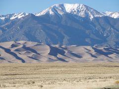 GW コロラド州旅行 その1 デンバー、そしてグレートサンドデューンズ国立公園へ