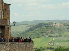 春のイタリア巡り ピエンツァ:オルチャ渓谷を見下ろす夢の町 トスカーナ州
