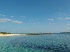 宮古島で体験ダイビング。海の中はキラキラでとても綺麗でした。