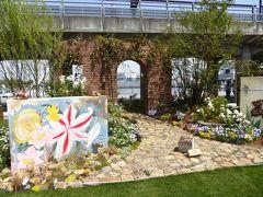春爛漫の優雅な横浜♪ Vol36 ☆象の鼻のパーク♪ 企業/団体出店の楽しい「もてなしの庭」♪