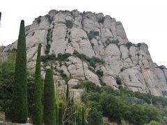 バルセロナからモンセラート山に行く