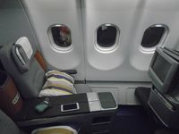 LH569(LOS-FRA)ビジネスクラス機内食