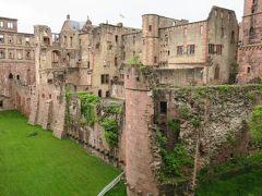 ドイツ南部3大名城巡り 4泊6日自力でどれだけ周れるか 【5】 ハイデルベルク