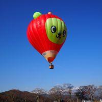 あ~~~無情・無念・残念!!夢に終わった「アルクマ熱気球体験搭乗!」2017信州高遠城址公園さくら祭り