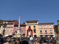 春の優雅なアブルッツォ州/モリーゼ州 古城と美しき村巡りの旅♪ Vol15(第2日) ☆Tagliacozzo:美しき町「ターリアコッツォ」偶然にもお祭り「Festa del Volto Santo」目撃♪
