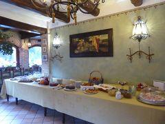 春の優雅なアブルッツォ州/モリーゼ州 古城と美しき村巡りの旅♪ Vol35(第3日) ☆Celano:チェラーノの高級ホテル「Hotel Le Gole」の素敵な朝食♪