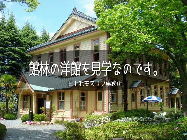 群馬県は館林。夏は関東でも一二を争う最高気温の高い街。<br />だから観光するなら、春・秋が一番!<br /><br />本日は館林のステキな洋館を見学。<br />風も心地よく、お散歩には最適です (*´ω`*)<br /><br />▽使用機材:Panasonic LUMIX DMC-FP1<br /><br />