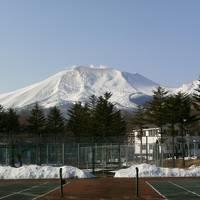 2017年3月の北軽井沢(浅間山)