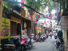 ハノイ ひとり旅【2】旧市街歩き+朝の市場