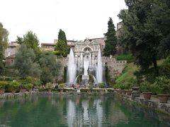 シルバーウィークにナポリ・ローマへ その16 ローマ郊外のティボリのエステ家別荘編