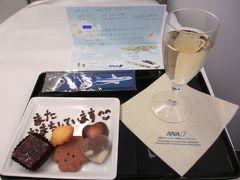 2017年ANA(DIA/SFC)修行6回目(出発~JFK到着編) 仲間と共に長距離フライトを満喫せよ!! 羽田~ニューヨーク~羽田(1泊3日) ANA様の長距離ビジネスクラスに初搭乗し、思いがけないサプライズに、ますますANA様が好きになった旅(*^^)v
